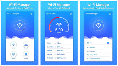 Wifi Manager app